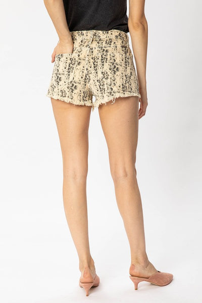 Kan Can Snakeprint Shorts