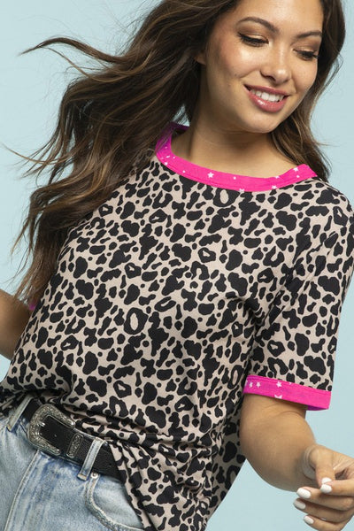 Starry Leopard Top