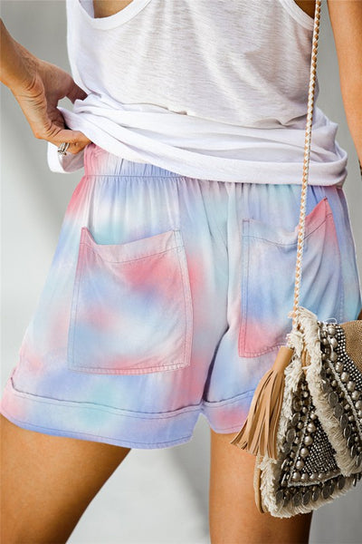 Tie Dye Kelly Pocket Shorts