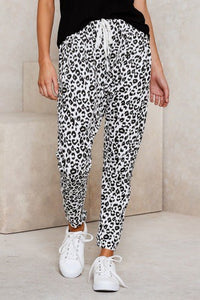 Leopard Joggers with Pockets