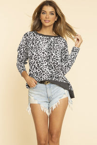 Wendy Leopard Top