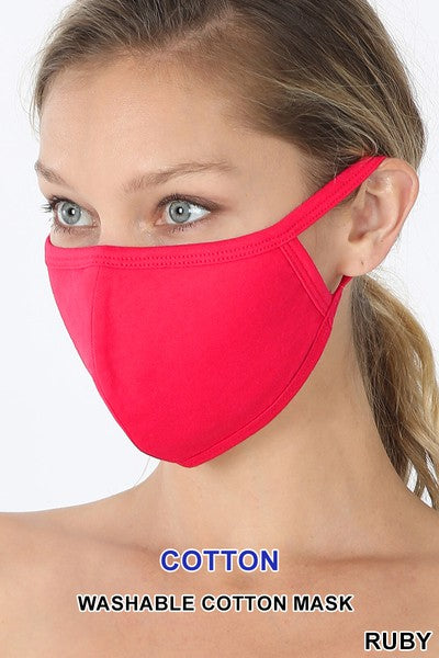 Ruby Face Mask