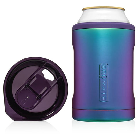 BrüMate Hopsulator Duo 2-in-1 | Dark Aura (12oz cans/tumbler)