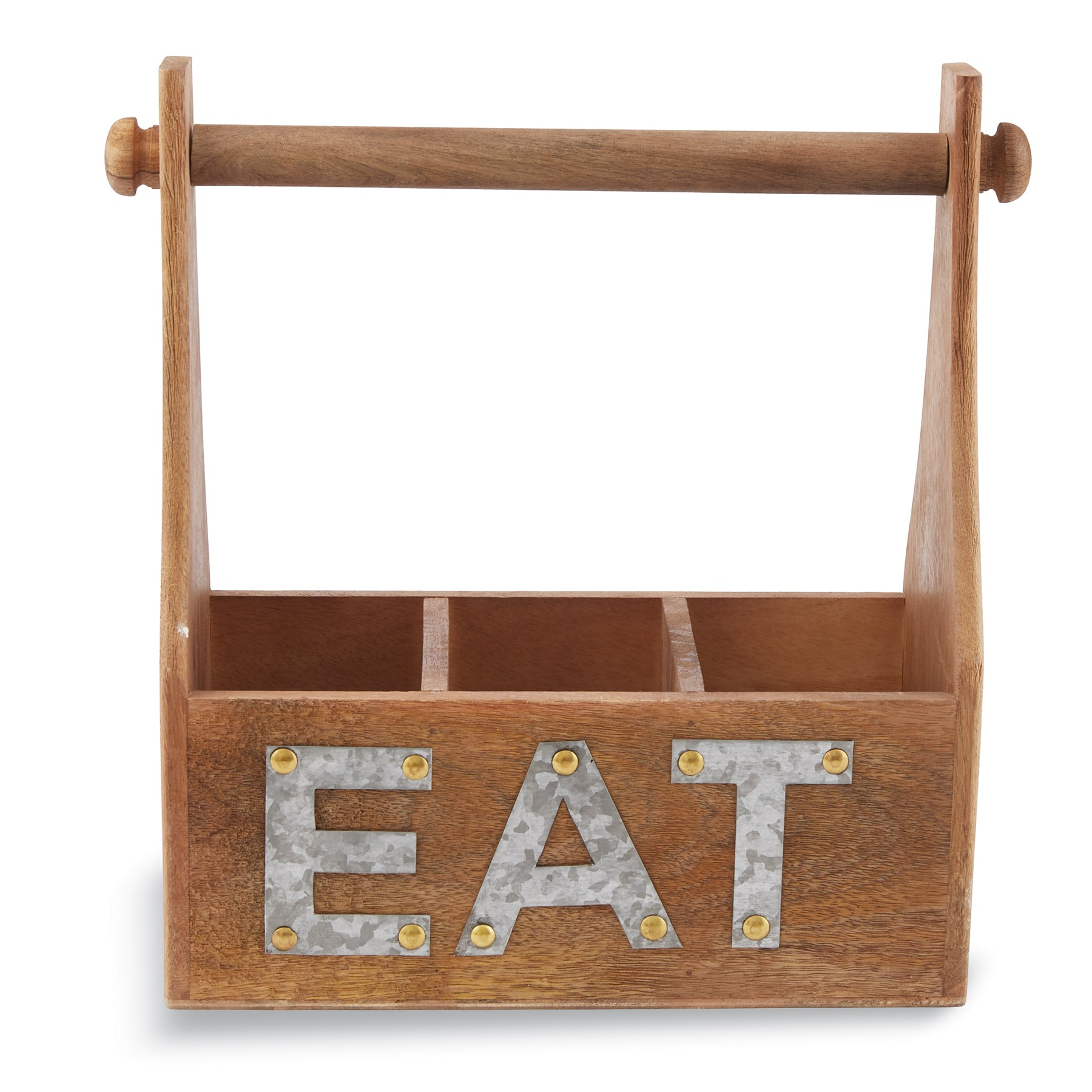Mud-Pie Eat Towel & Utensil Caddy