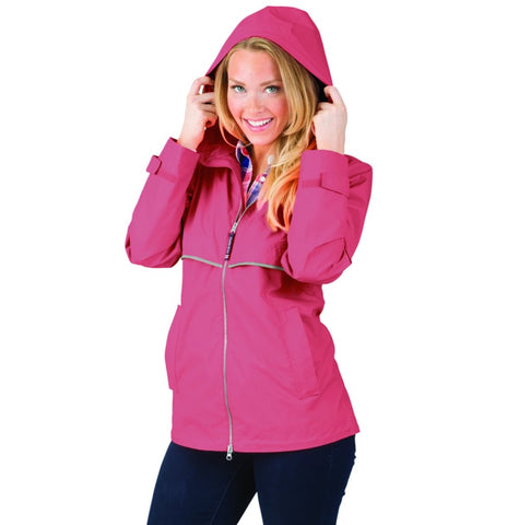 *NEW* Women's New Englander® Rain Jacket-Mauve