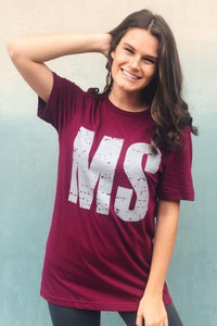 Mississippi State Graphic Tee