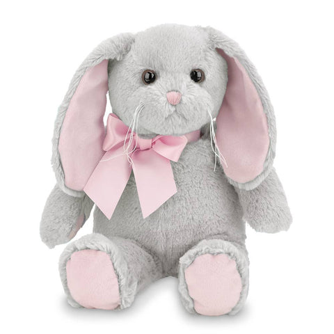 Lil' Mopsy Gray Bunny with Pink Ears