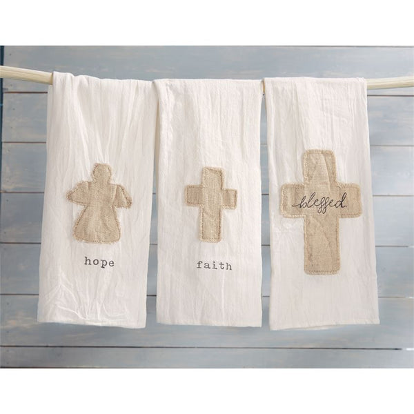 Mud-Pie Applique Towels