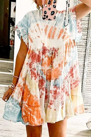 Claire Tie Dye Dress