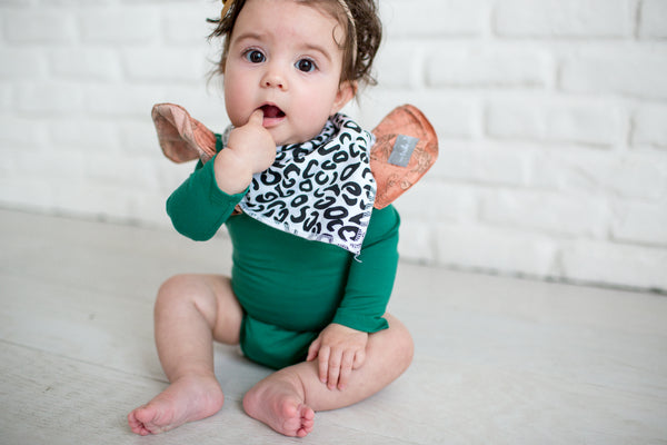 Copper Pearl Zara Bandana Bib Set