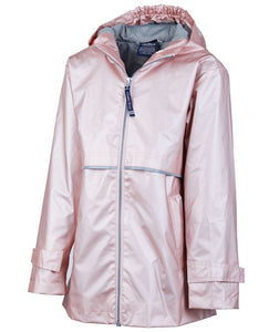 Youth New Englander® Rain Jacket-Rose Gold