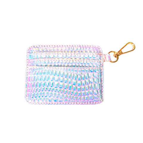 Holographic Jelly Cardholder