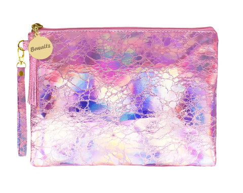 Holographic Makeup Small Pouch