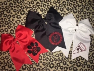 Panther Hairbows
