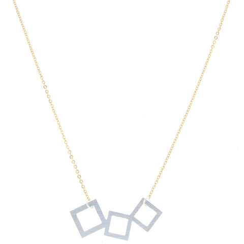 Jane Marie Fallon Cluster Necklace