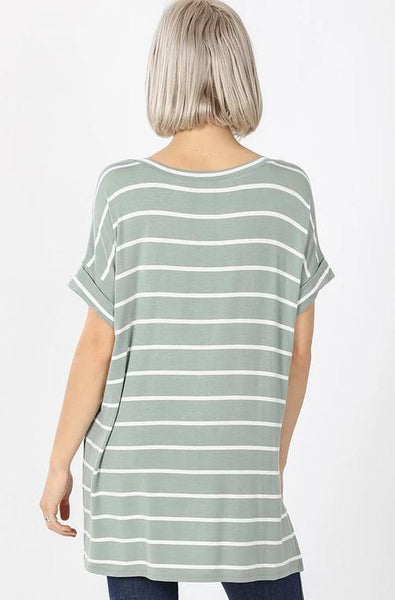 Everyone's Favorite V-Neck - Light Green