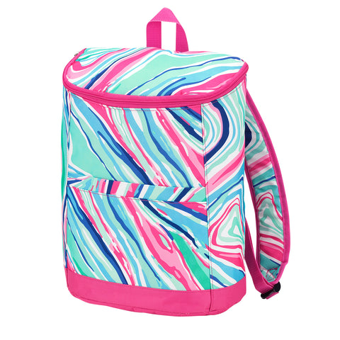 Marble-Ous Cooler Backpack