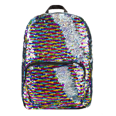 Rainbow/Silver Magic Sequin Backpack
