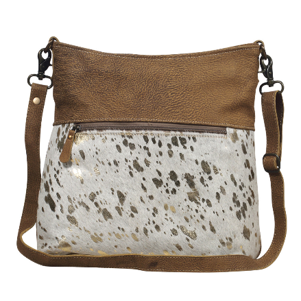 Myra Freethinker Leather Shoulder Bag