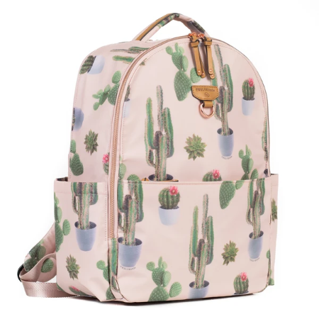 On-The-Go Backpack in Cactus Print 2.0