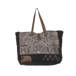 Myra Gleam Floral Weekender Bag