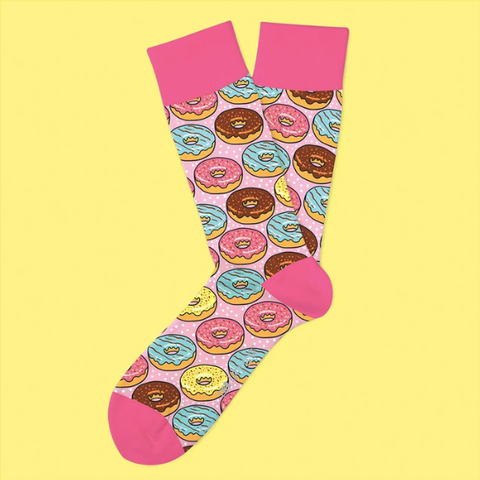 Go Nuts for Donuts Everyday Socks