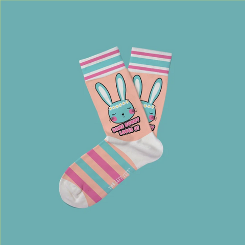 Kid's Some Bunny Loves You Everyday Socks