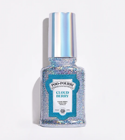 Poo~Pourri Glitter Cloud Berry 2oz.