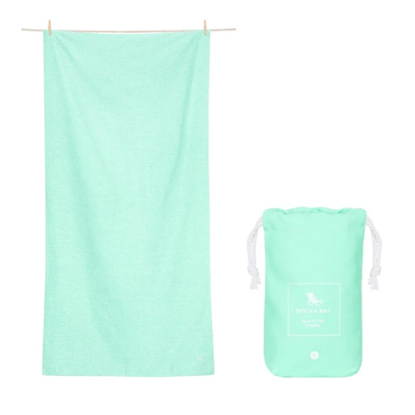 Eco Quick Dry Towel - Rainforest Green