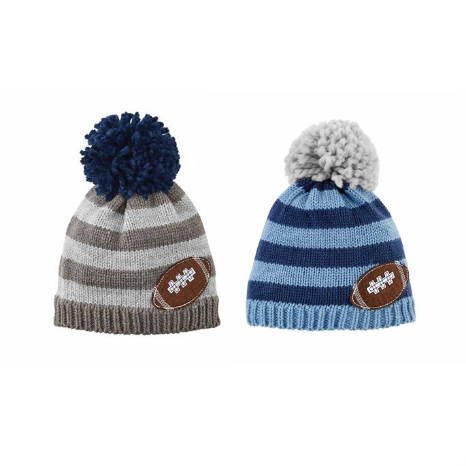 Mud-Pie Football Knit Hats