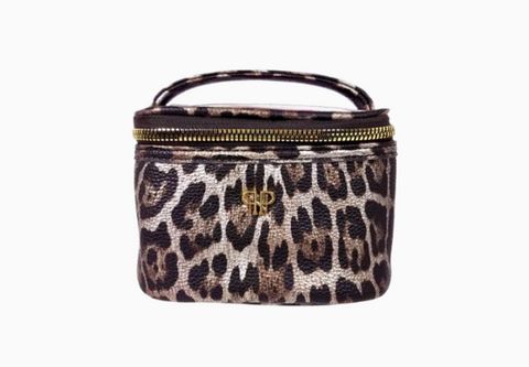 Getaway Jewelry Case - Bronze Leopard