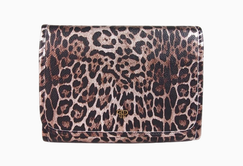 Getaway Toiletry Case - Bronze Leopard
