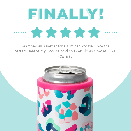Swig Party Animal 12oz Skinny Can Cooler