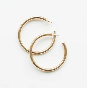 Estonia Shiny Gold Earrings