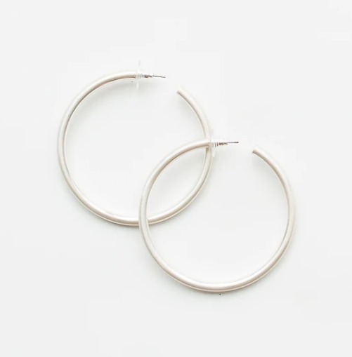 Salem Silver Earrings