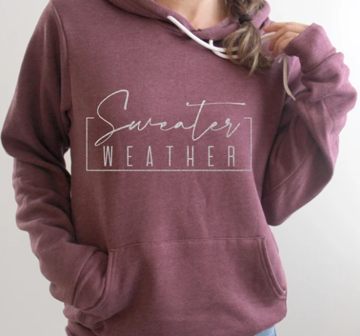 Sweater Weather Hoodie