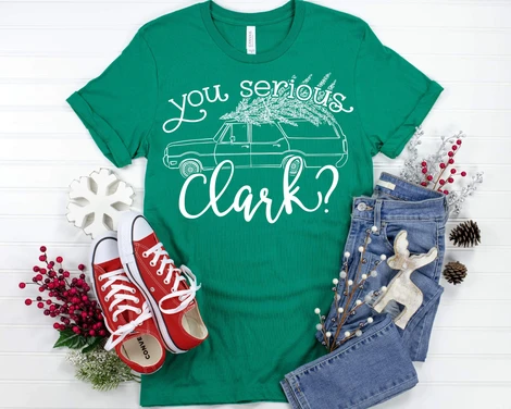 You Serious, Clark Graphic Tee