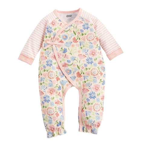 Mud-Pie Secret Garden Floral Muslin Sleeper