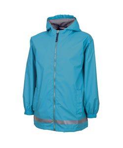 Youth New Englander® Rain Jacket-Wave Blue