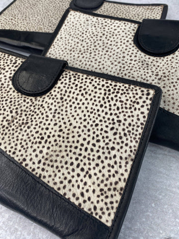 Dots Genuine Leather and Hide Wallet