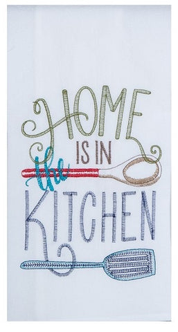 Home is in the Kitchen Kitchen Towel