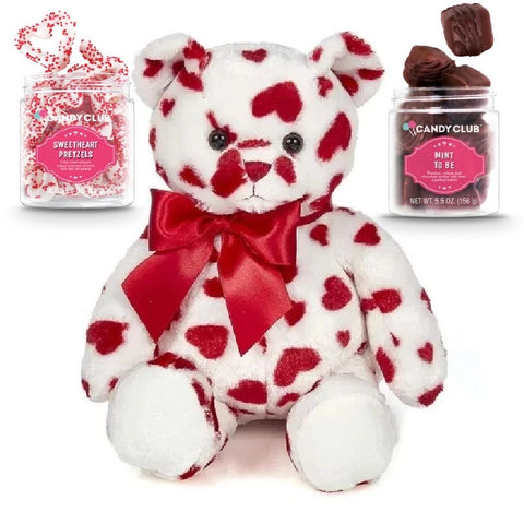 Red Bear with 2 Candy Set