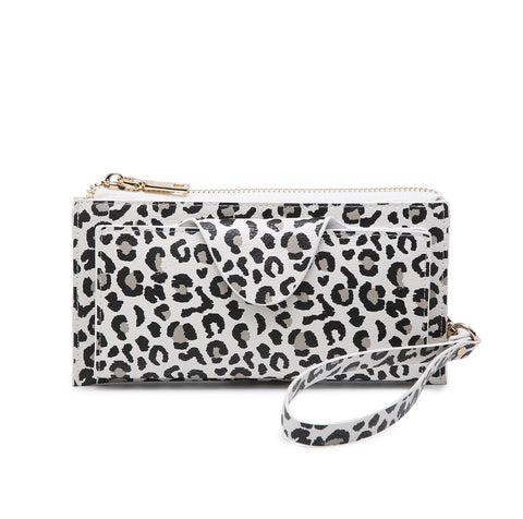 Khaki Cheetah Kyla Wallet