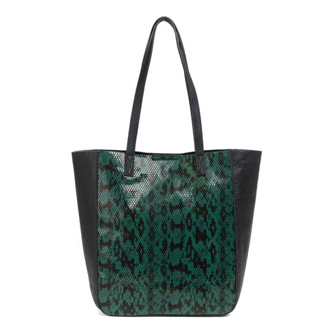 Hunter Green Nova Animal Print Bag