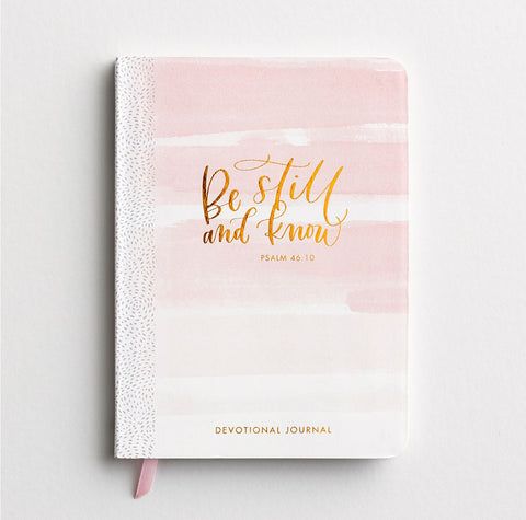 Be Still And Know Devotional Journal