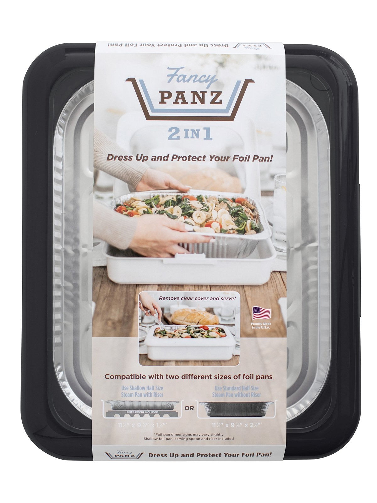 Fancy Panz 2 in 1™ - Charcoal