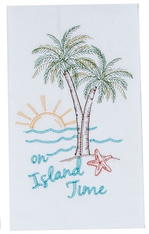 On Island Time Kitchen Towel