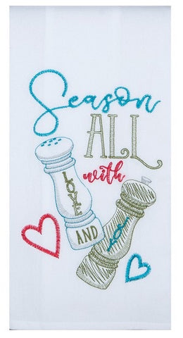 Season All With Love and Joy Kitchen Towel