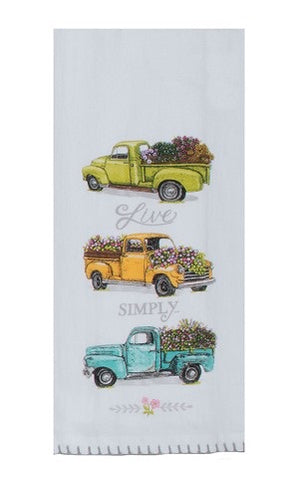 Live Simply Truck Kitchen Towel