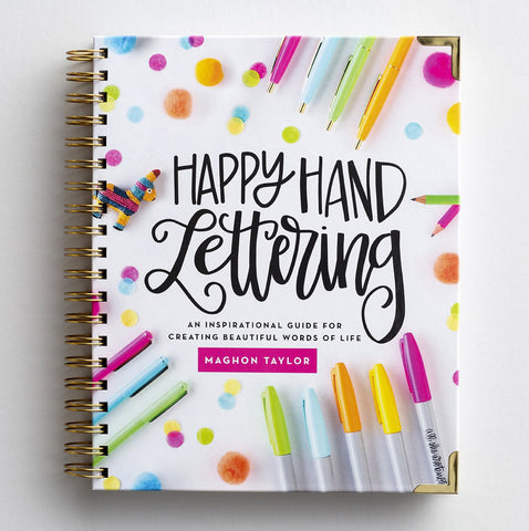 Happy Hand Lettering How-To Guide